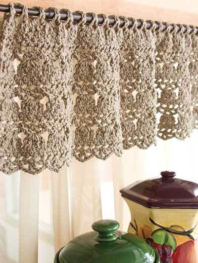 Crochet – Customer Favorites – Feather-Stitch Valance | All Free ...