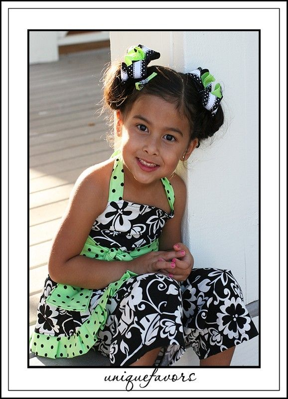 Twist of Lime 3 Piece Set Custom Handmade in many sizes by uniquefavors on Etsy
