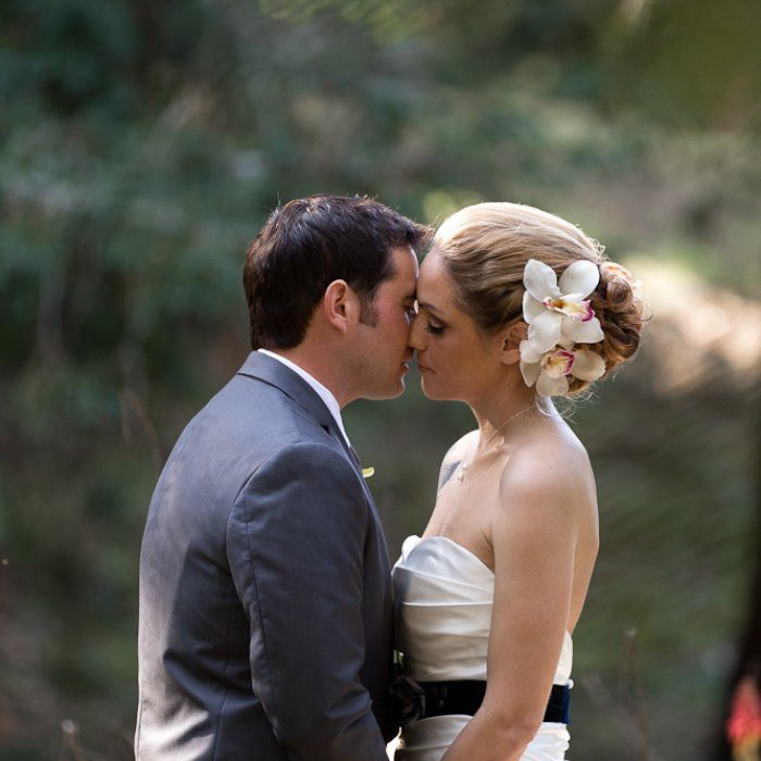 Country Wedding Hairstyles: Country Strong: Jackie & Richard In Morgan Hill, CA