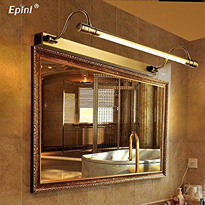 TYDXSD Retro led amerikanischen kontinentalen Badezimmer Spiegel - spiegel badezimmer mit beleuchtung