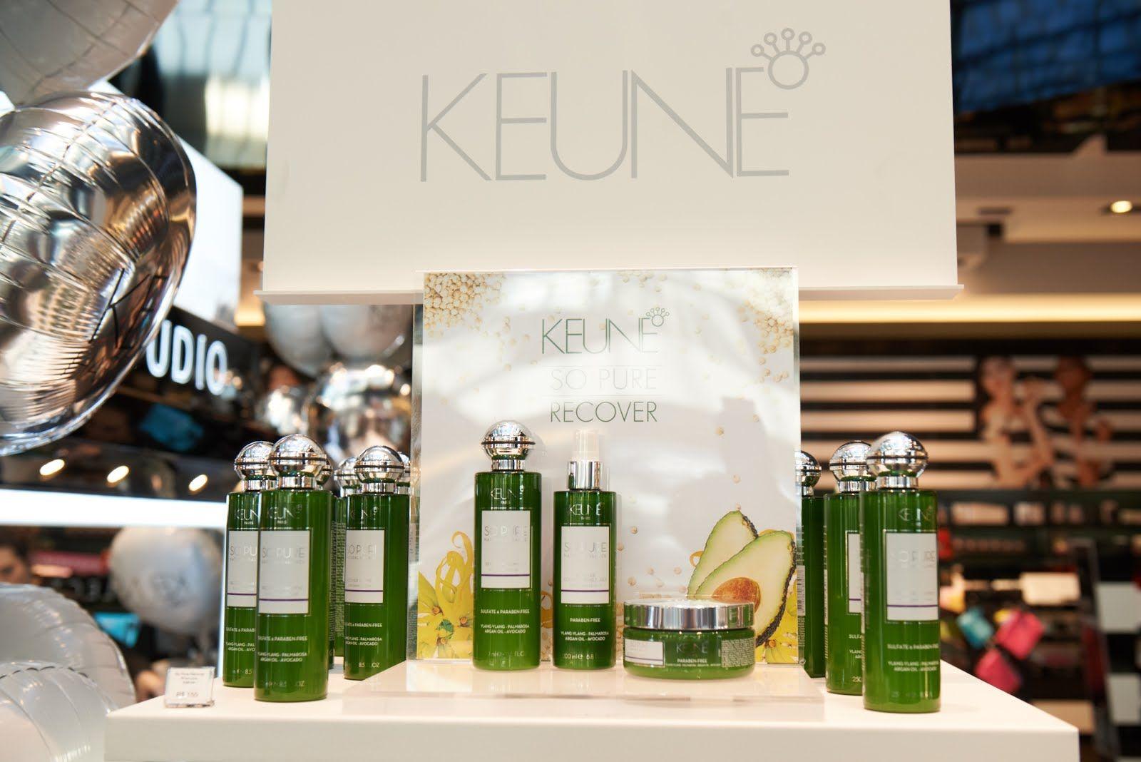 Estilo Modas e Manias: Keune lança a linha SO PURE RECOVER 100% natural