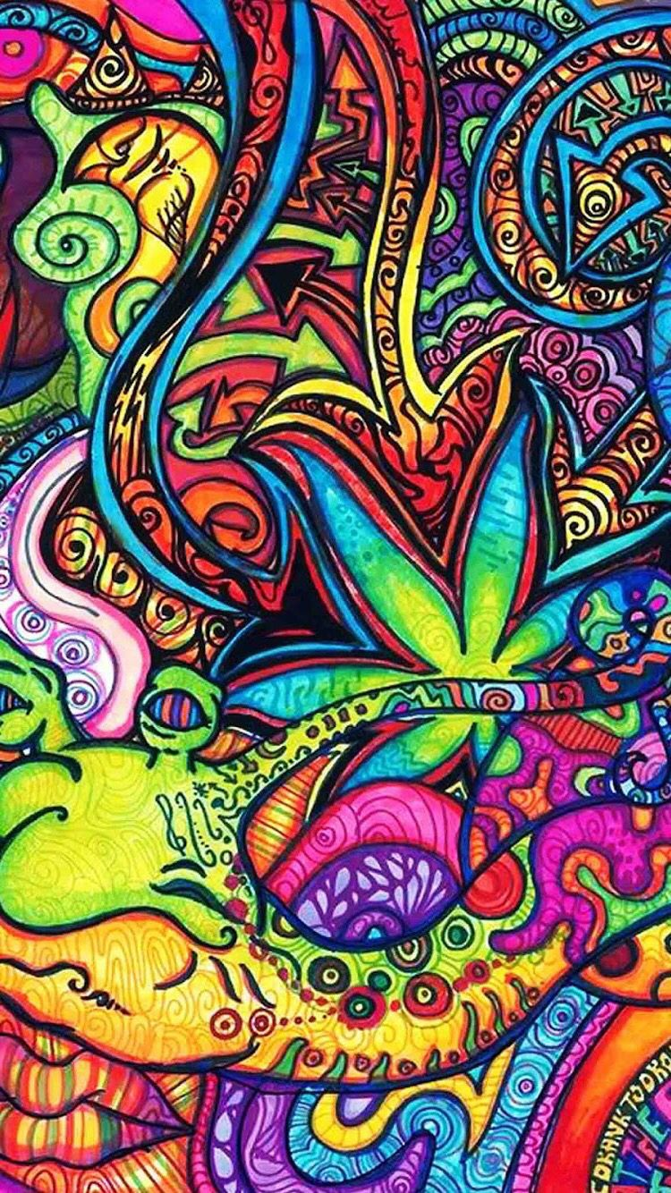 Pin by Sam Breanne on iPhone Wallpapers Trippy iphone