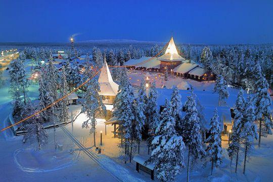 village du pere noel france Village du Père Noël : activités, tarif, voyage Partez en Laponie ! village du pere noel france