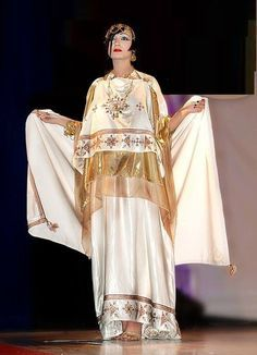 Location robe de soirée empire kabyle orientale par
