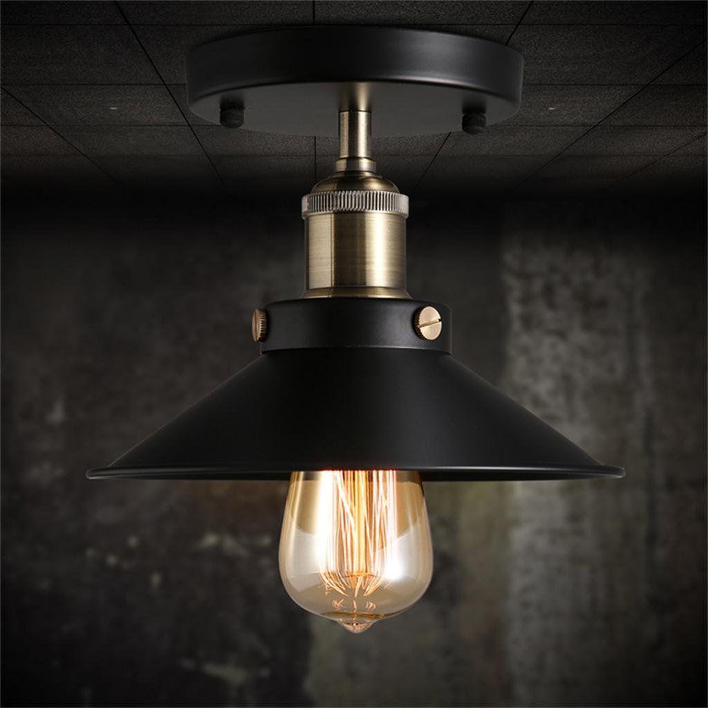 kreativ Haushalt Deckenleuchte Industrie-Lager im Loft-Stil Lampe ...