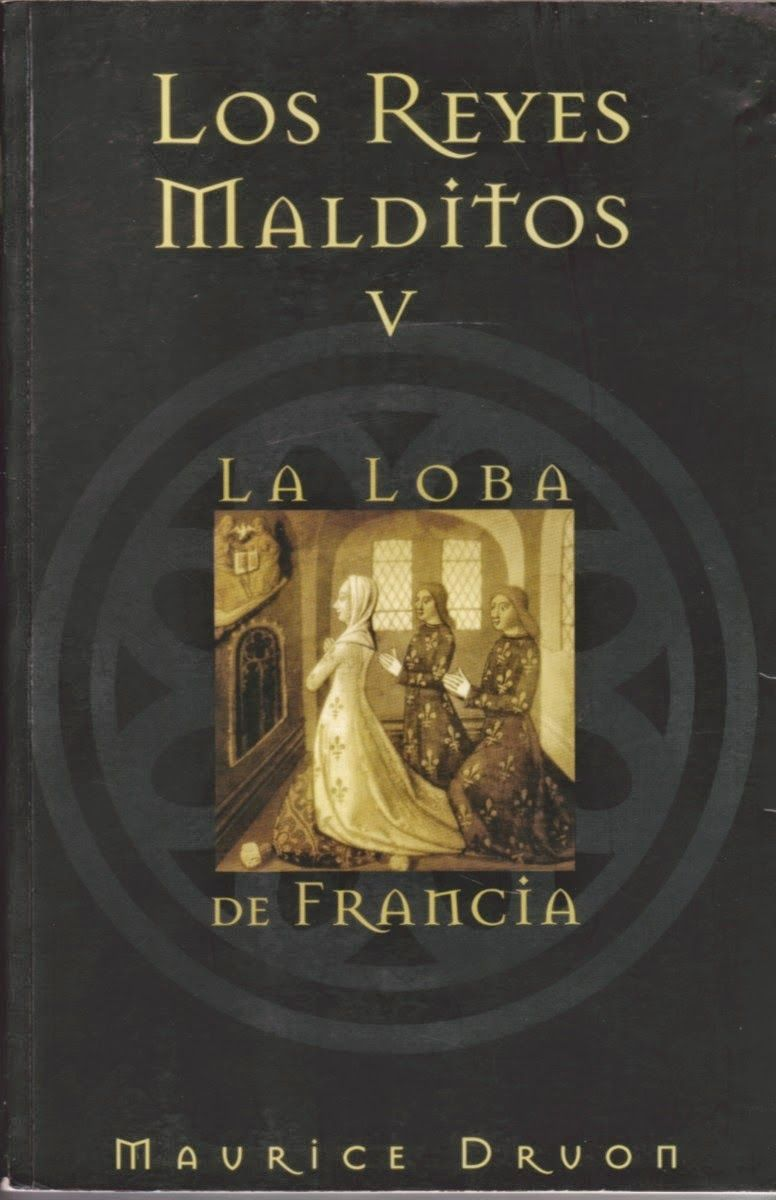Amante Loba Y Vampira 2 portadas, hojas y libros: saga los reyes malditos de maurice