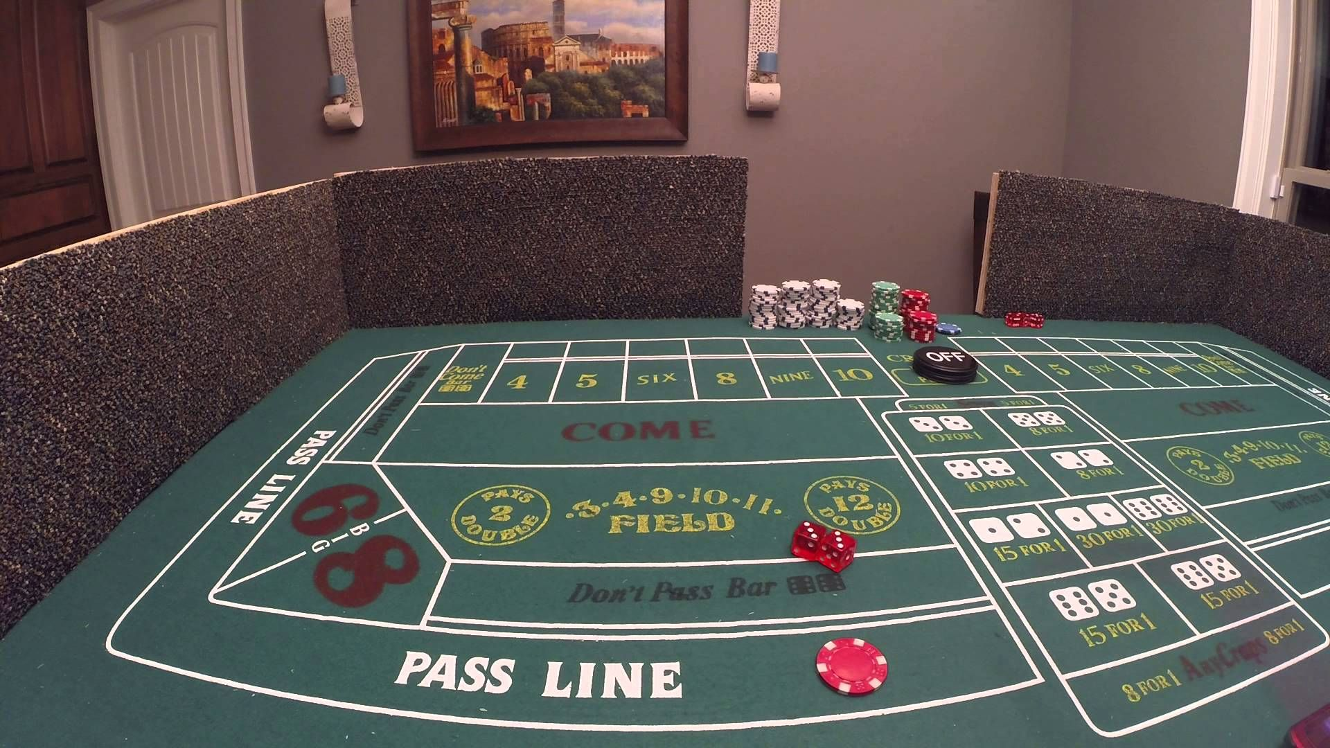 How to play craps and win part 1 beginner intro to the