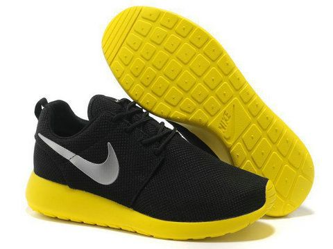 quality design b315b dd7a6 Wish List  Nike Roshe Run Black Yellow