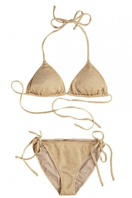 Lurex Bikini | Calypso St. Barth- Potentially the best Honeymoon Suit.