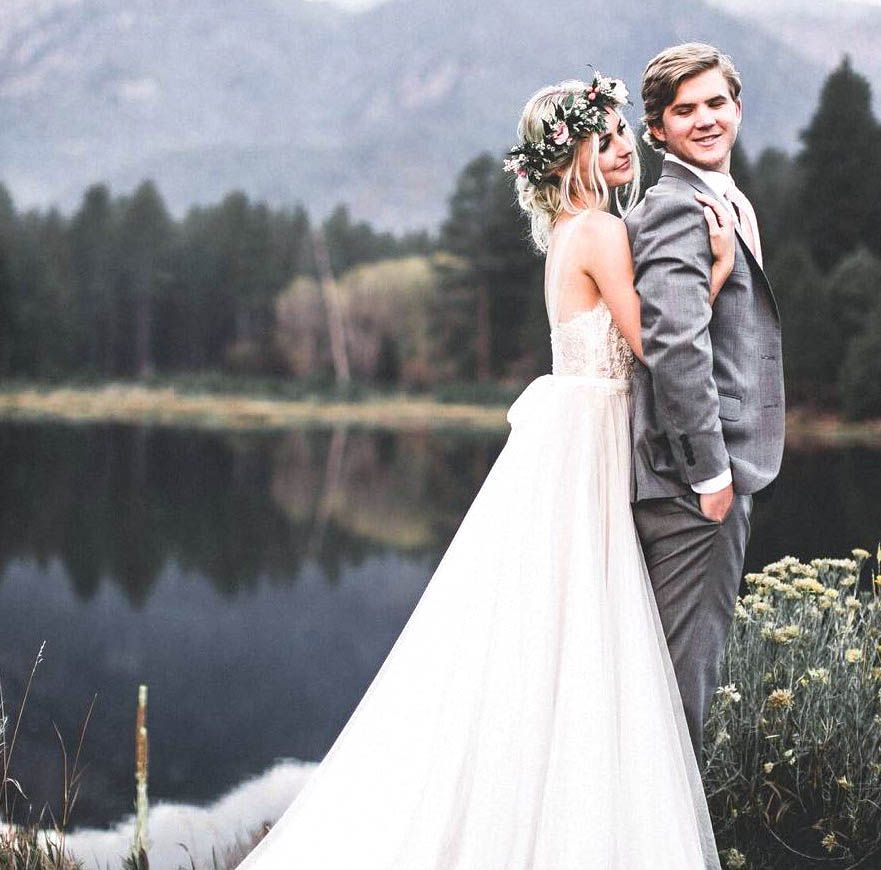Aspyn Ovard Parker Ferris Got Married Today Wedding