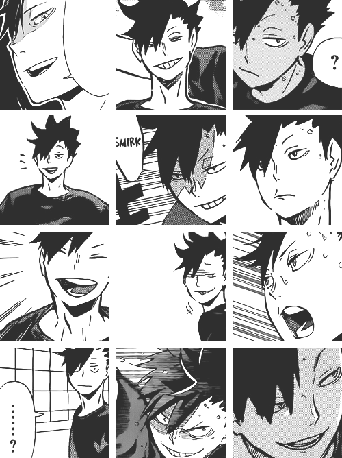 Tetsurou Kuroo, Captain of the Nekoma High Volleyball Club ...