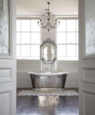 Amazing Bathrooms Bathtubs And Chandeliers