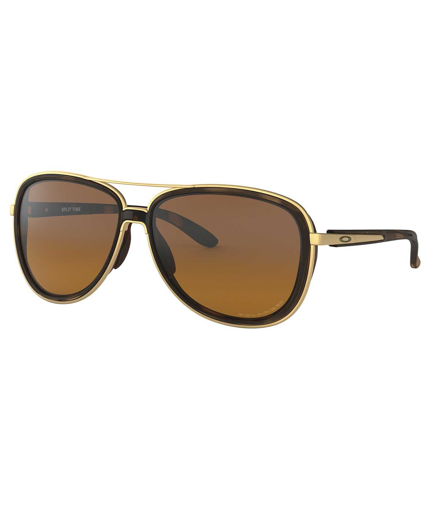d023d6afae Oakley Split Time Polarized Sunglasses - Women s Accessories in Brown  Tortoise