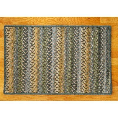 Colonial Mills Hw59 Horizontal Wool Rectangle Blue Rug Rug Size