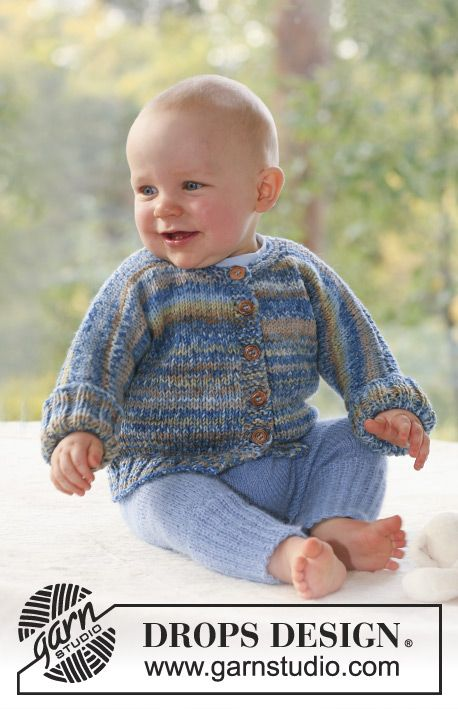 DROPS jacket in 2 threads Fabel and pants in 1 thread Alpaca. Free ...