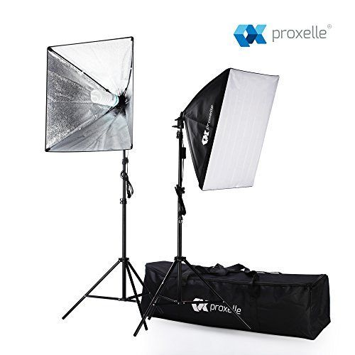 1 x Carrying Bag Safstar Professional Photo Studio Strobe Monolight Lighting Kit for Video Shooting 2 x Overhead Boom Light Kit 2 x Softboxes Location and Portrait Photography