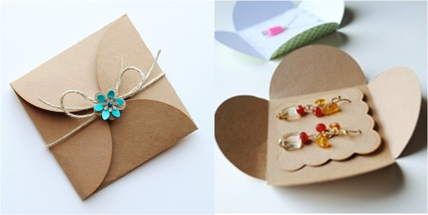 display card package mulit handmade drop earring diy packaging jewelry cute item earrings size stud