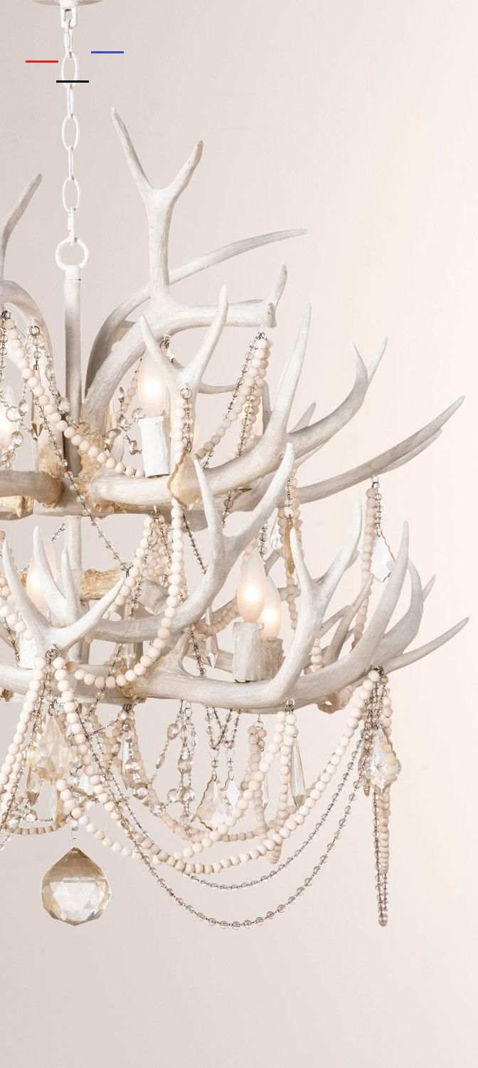 Glamorous Antler Chandelier Glamorous Antler Chandelier Not your traditional lodge antler chandelier, the Cheyanne was inspired by color palette of bleach sea shells and sun faded bone. The combination of a neutral color palette along with clear and tea stained crystals give this rustic chandelier a laid back luxe vibe. #glamorous #lighting #chic #luxe #chandelier #antlerchandelier<br> Modern Glam Decor: Find all the essentials for a polished pad where luxe classics meet fashion edge. Learn how
