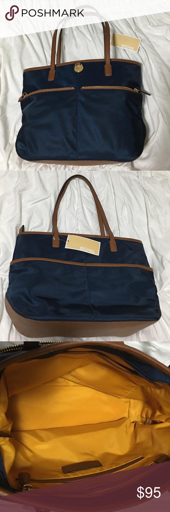 Michael Kors Brand new navy Michael Kors handbag with tags! Michael Kors Bags Shoulder Bags