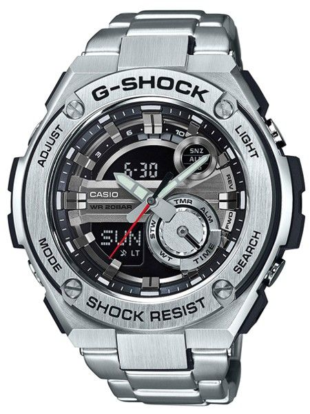 597e3945460 CASIO G-SHOCK G-STEEL