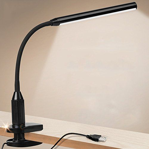 Lelife Clip On Light 5w Clamp With Dimmer Touch Sensitive Control