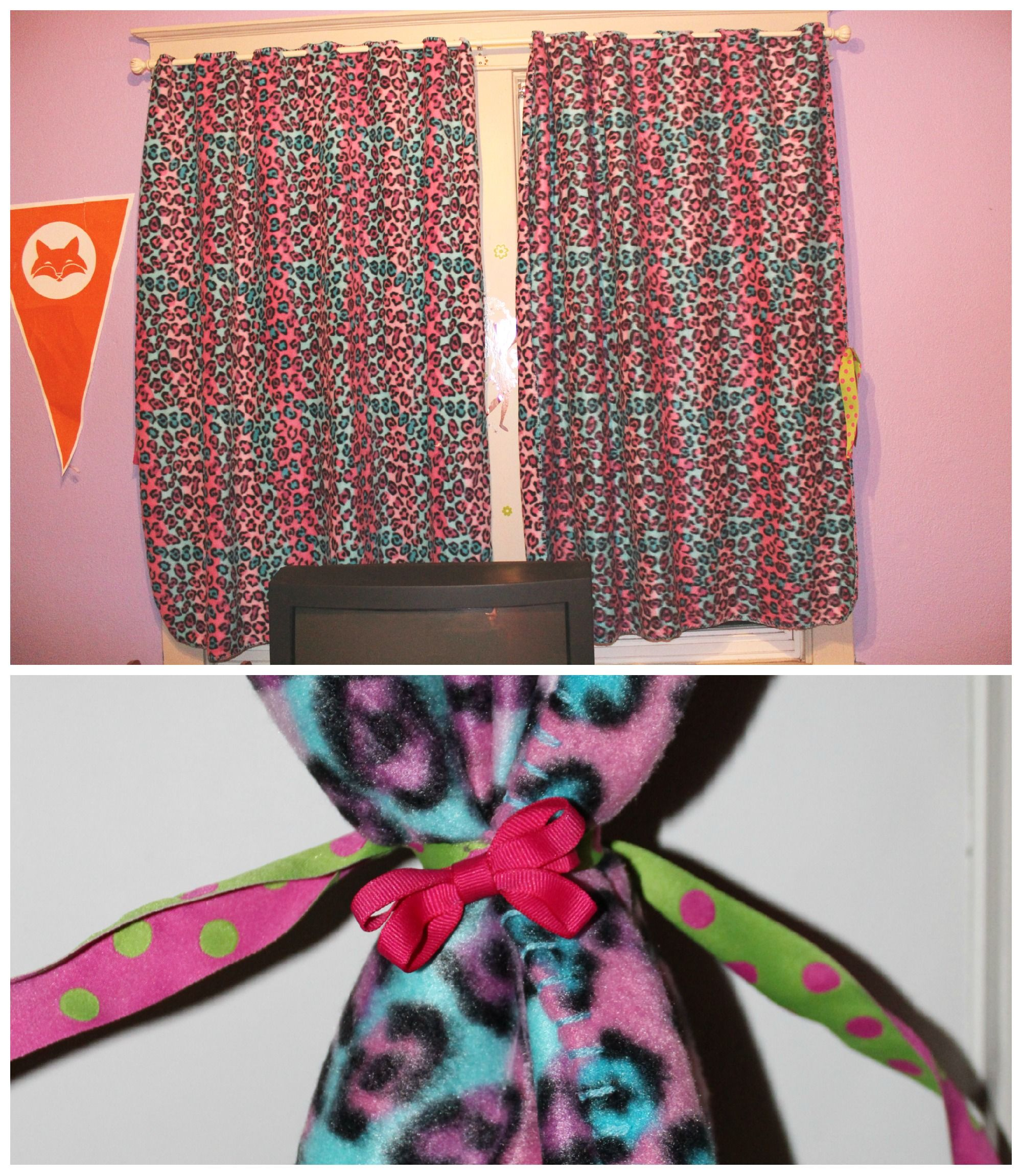Diy No Sew Curtains Diy No Sew Curtains 2 Fleece Blankets On Sale Cut Slits In The