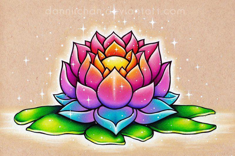 Facebook instagram commission info the lotus is my favorite colorful lotus tattoo sketchestattoo drawingslotus flower mightylinksfo