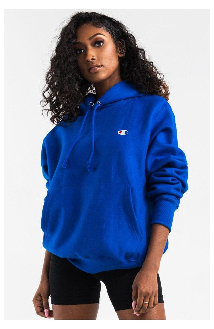 Champion Women S Pullover Hoodie In Beige Teal Purple Yellow Team Gold White Black Blush Champion Pu In 2021 Champion Clothing Hoodie Fashion Pullovers Outfit [ 1281 x 832 Pixel ]