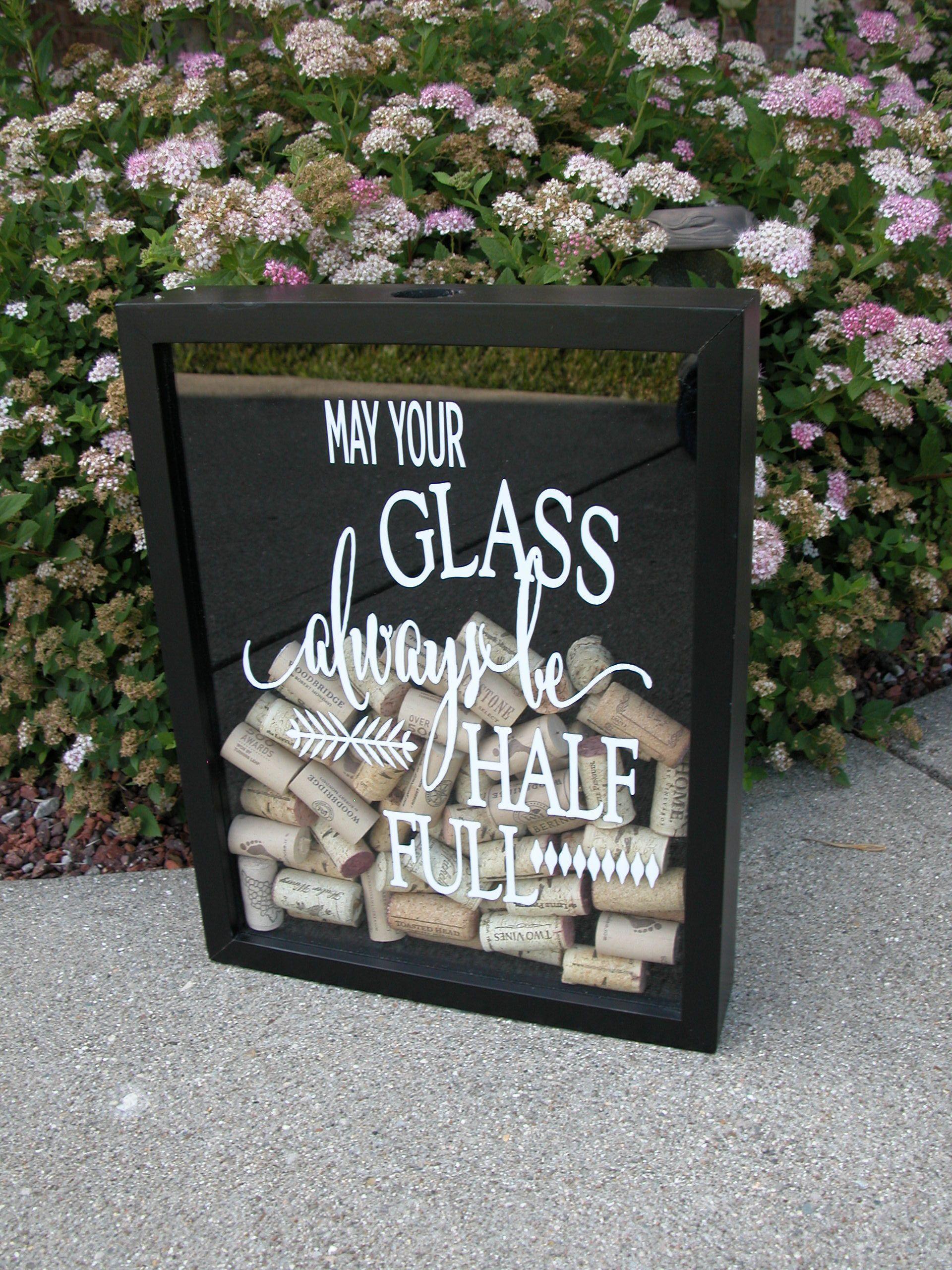 Wine Cork Holder, Wine Cork Shadow Box, Cork Holder, Shadow box ...
