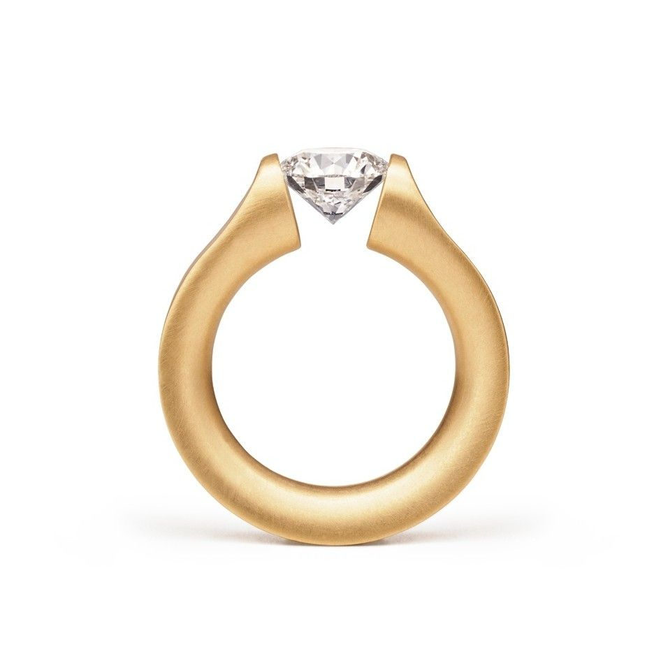 Niessing - Tension Ring - Everest - Engagement Ring - ORRO Contemporary Jewellery  Glasgow - www