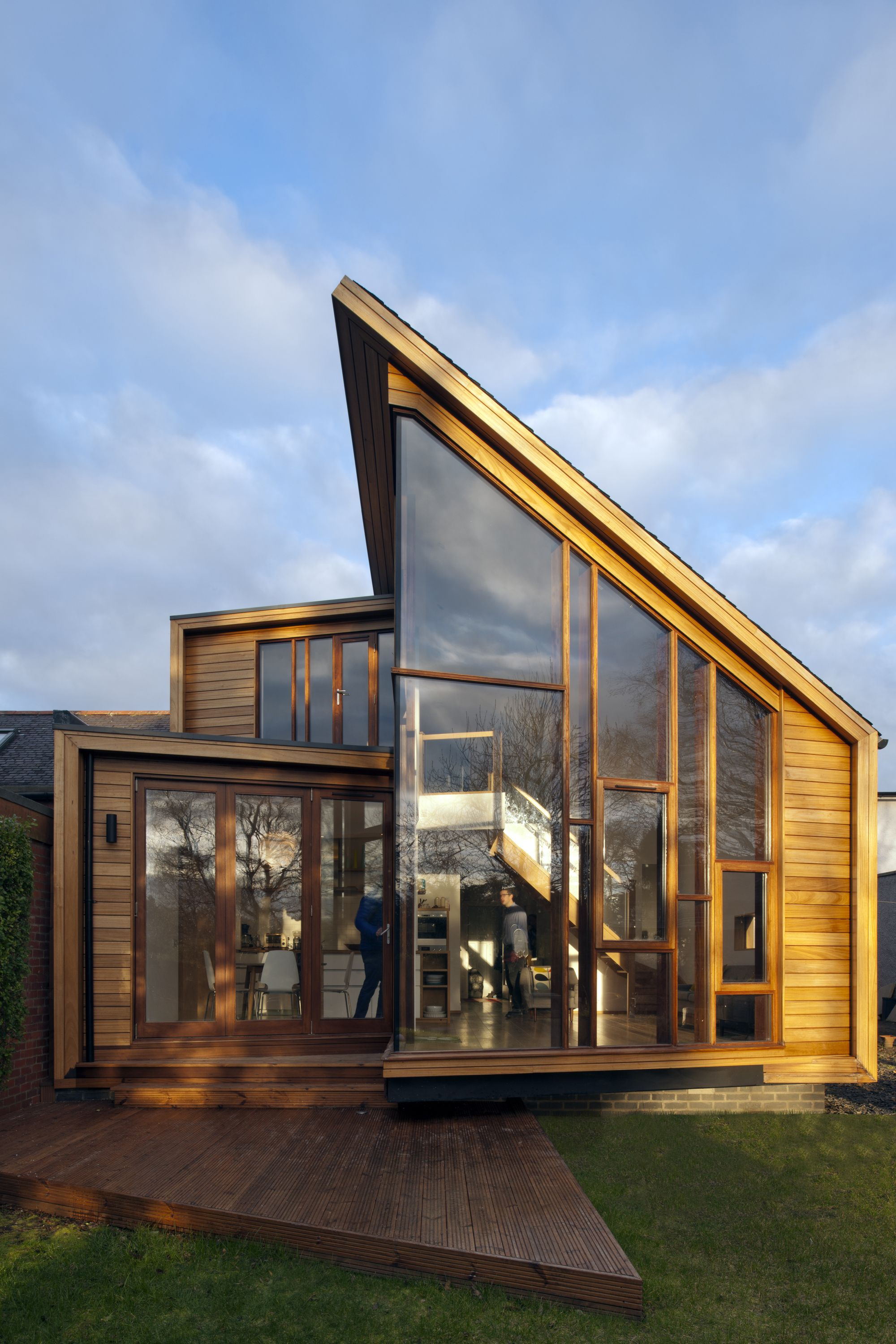 Gallery Of Solen Vinklar David Blaikie Architects 1 Architecture House Scandinavian Architecture House Extensions