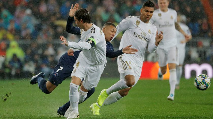 ⚽️ FOOTBALL LIGUE DES CHAMPIONS Real Madrid PSG 2