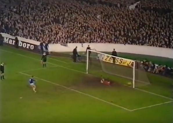 Everton borussia monchengladbach ai rigori alan ball non