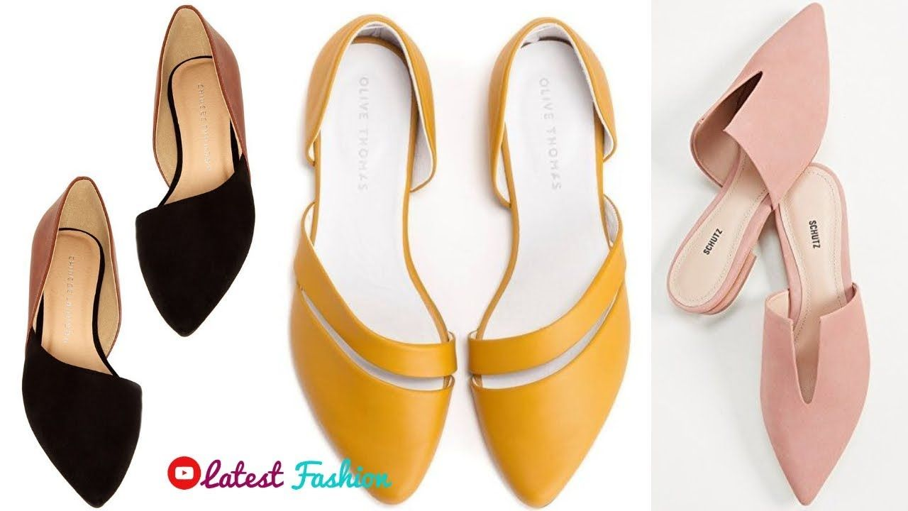 Simple Flat Shoes Bellies Designs