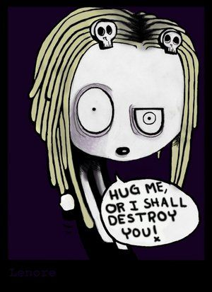 Lenore Cartoon  Google Image Result for http://th01.deviantart.net/fs9/300W/i/2006/063/c/3/_Lenore__by_Meow156.jpg