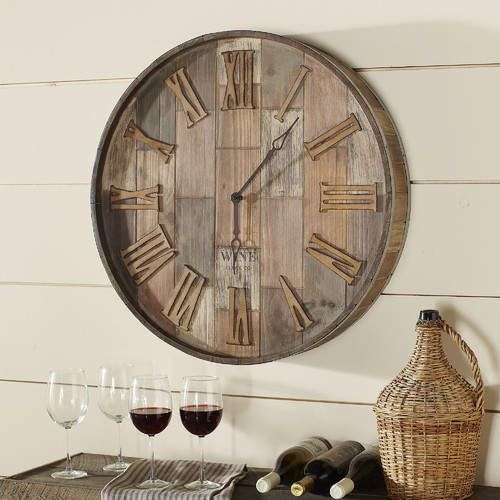 Birch Lane Malbec Wall Clock (Affiliate link)   Home Decor ...