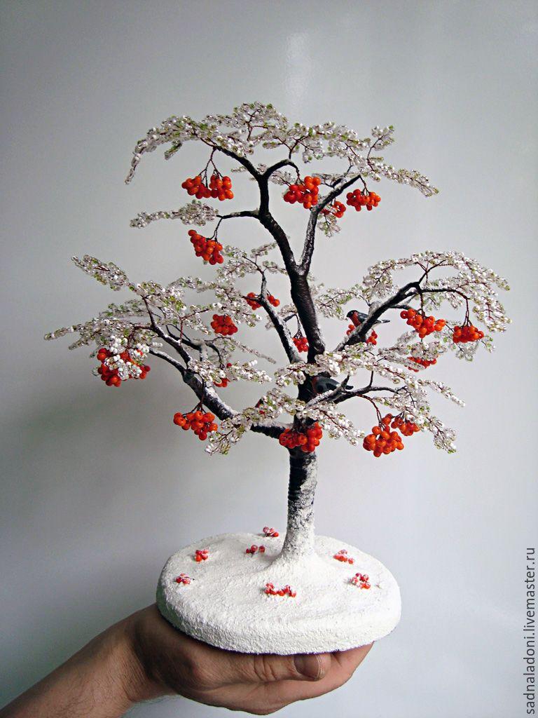 Дерево счастья из бисера своими руками фото 550