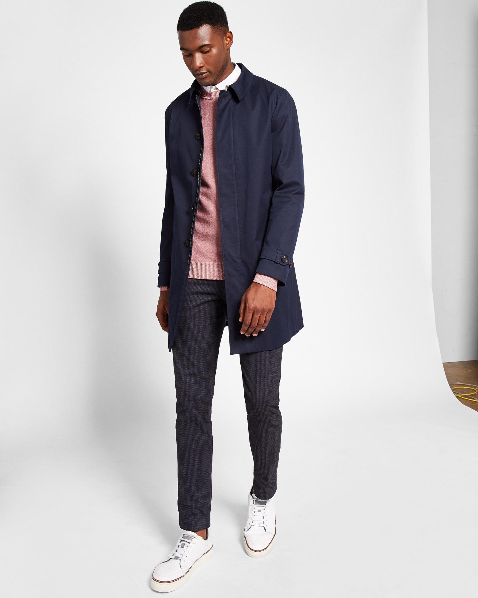 Ted Baker Cotton blend mac   Mens mac coat, Men s coat