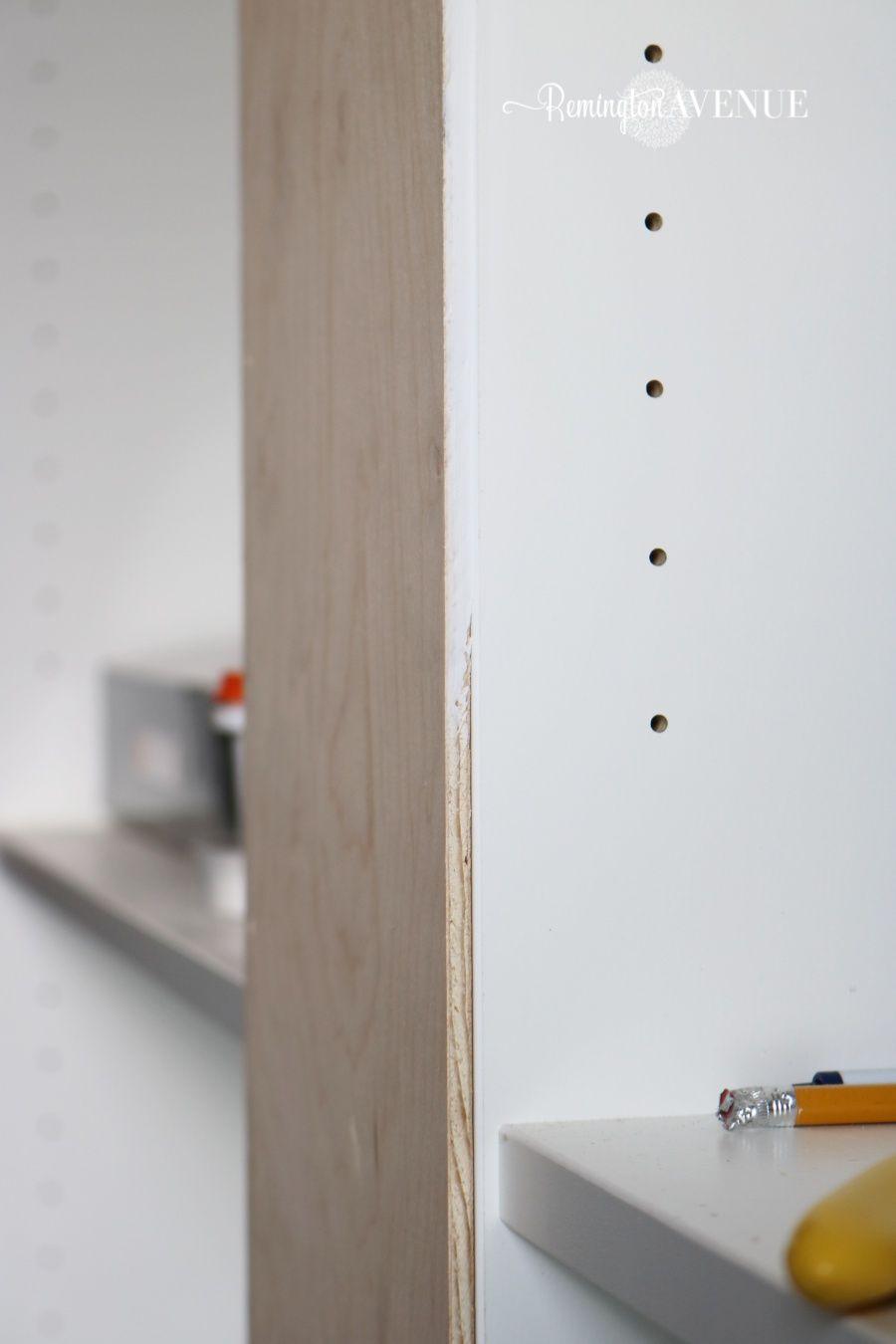 Ikea Billy Bookcase Library Hack Billy Regal Pimpen Billy Bucherregal Billy Regal