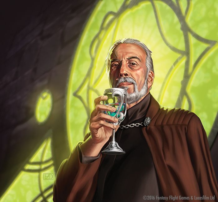 Image result for count dooku art