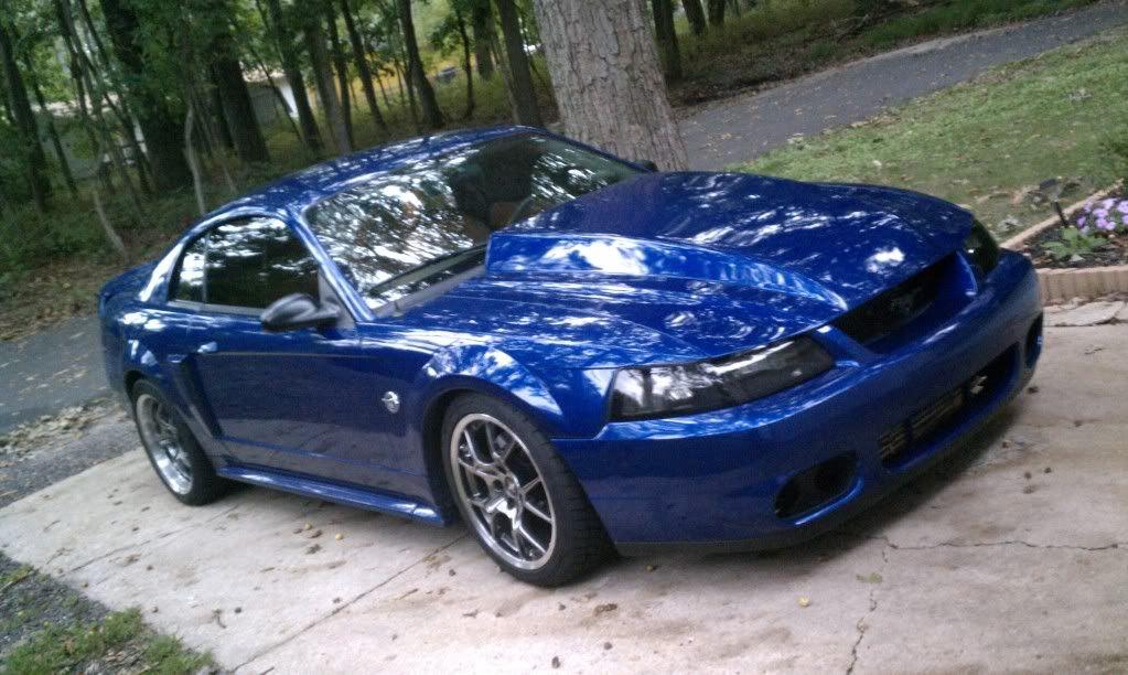 99 04 Mustang Cobra 2012 Gt Grabber Blue 6m Paxton Glass Roof
