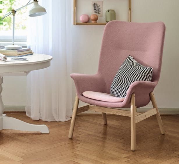Ikea Vedbo Sessel Mit Hoher Ruckenlehne Affiliate Link Home