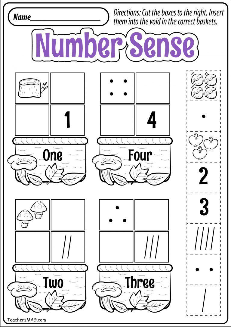 Fall Preschool Math Worksheets Teachersmag Com Preschool Fall Math Fall Math Kindergarten Math Worksheets Fall math worksheets kindergarten