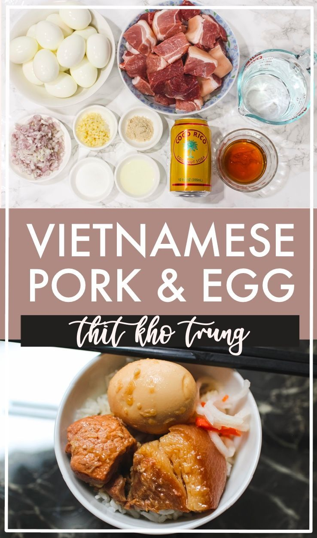 Easy Vietnamese Braised Pork and Eggs // Thịt Kho Trứng
