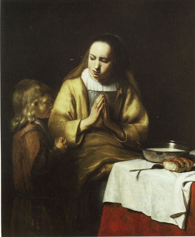 Abraham van Dijck - The Widow of Zarephath and Her Son