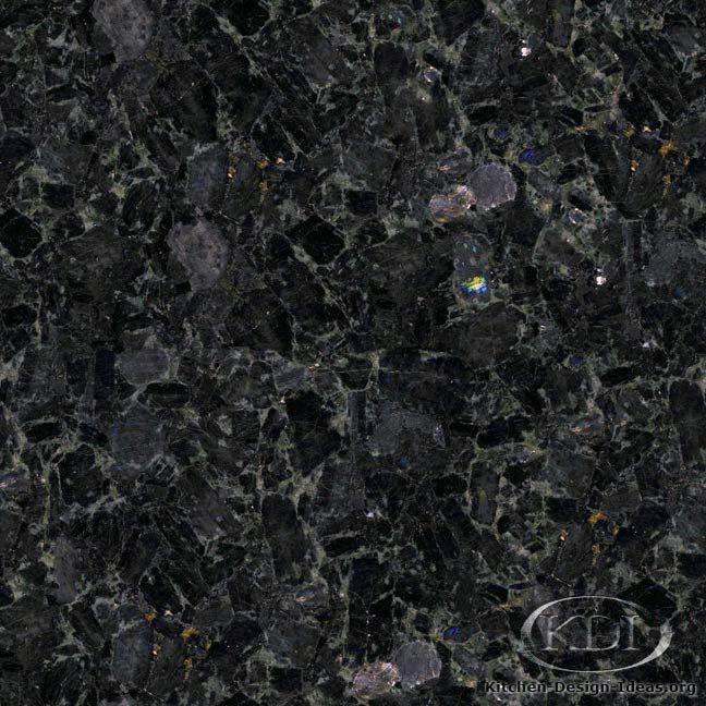 Volga Blue Granite - Kitchen Countertop Ideas   Blue ...