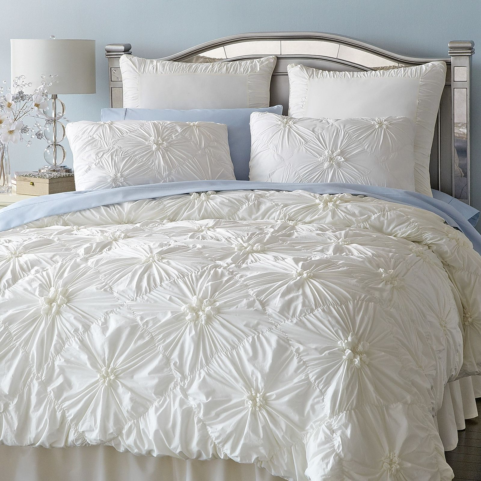 ivory madison duvet piece set home quebec queen dp com kitchen park amazon comforter