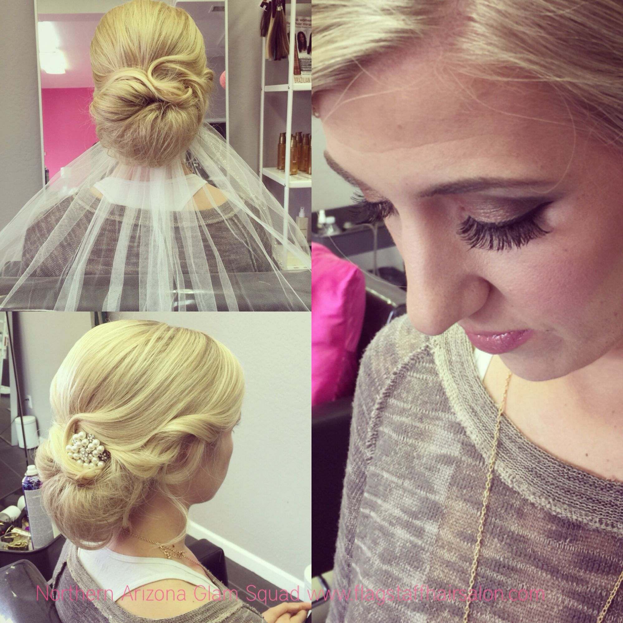 bridal hair and makeup trial | northern arizona glam squad