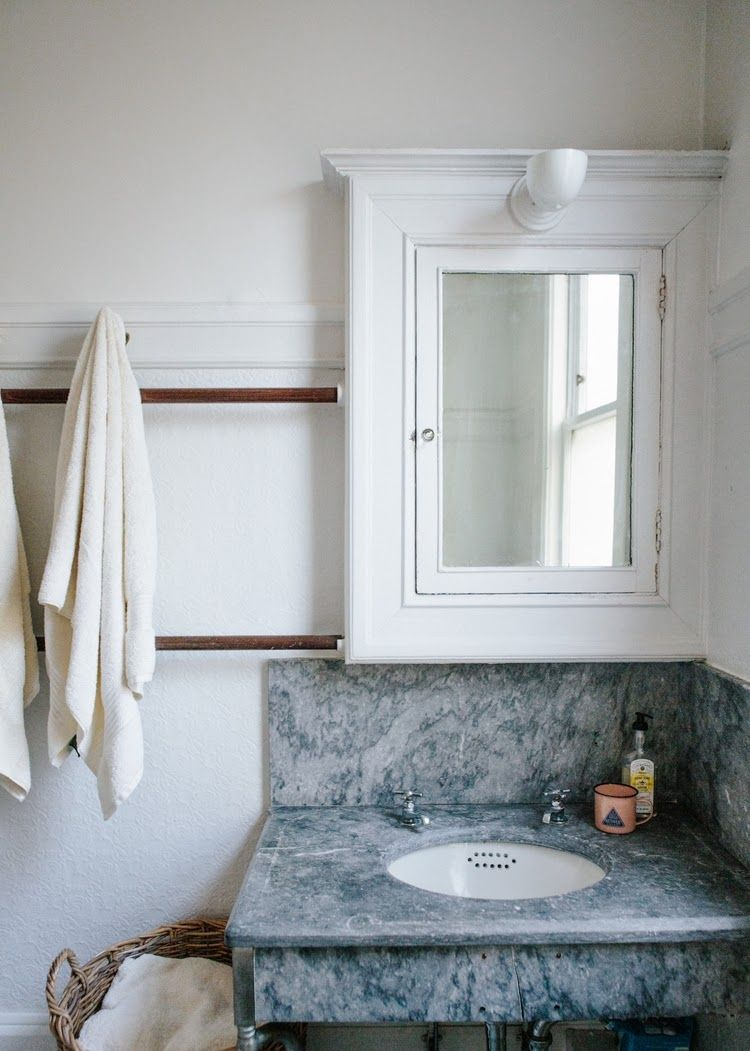original soapstone in this vintage bathroom that includes 6ft long ...