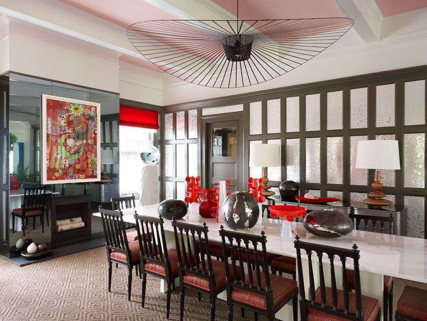Pin On Yemek Masasi Top tropical dining rooms vibrant
